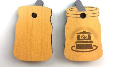 木製チャーム